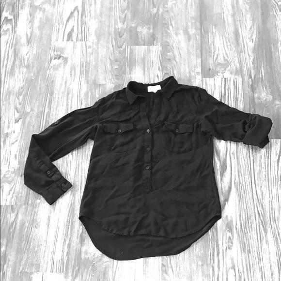 cloth & stone Tops - Black Cloth & Stone Shirt